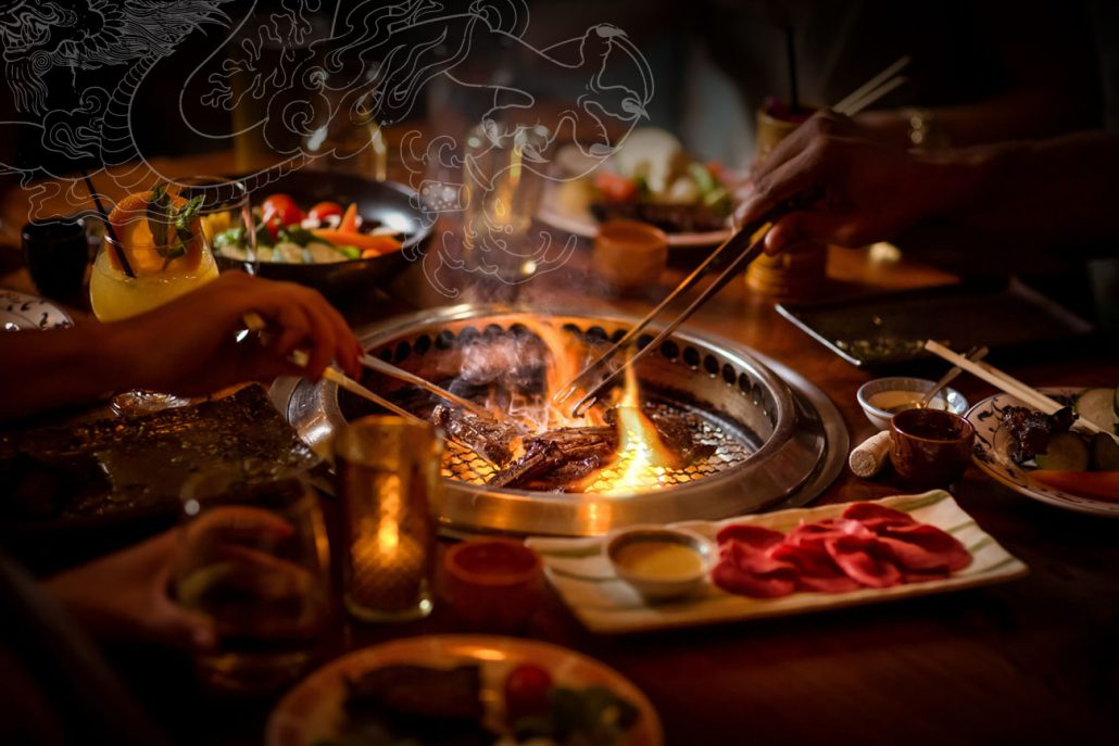 Drunken Dragon Korean Barbecue Restaurant In Miami Beach